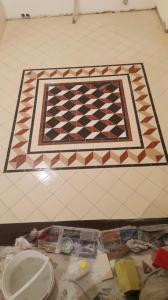 Укладка английской плитки